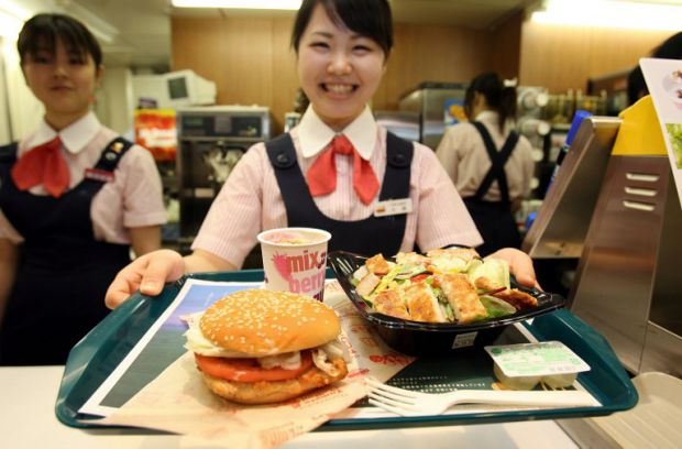 Food Giant Is More Of A Special Opportunity For Japanese People To Try American Food Not Something They Quickly Grab Because Its Convenient And Cheap