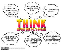 Think Before you Post Online